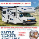 St. Michael's Biggest Fundraiser of 2019: RV Motorhome Class C Raffle!