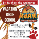 Vacation Bible School Registration!