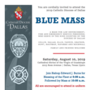 Diocese of Dallas Blue Mass