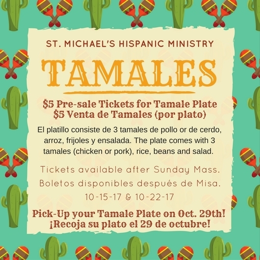 tamales plate for sale st michael the archangel diocese of dallas
