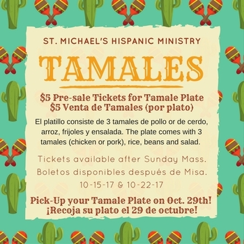 TAMALES PLATE FOR SALE!