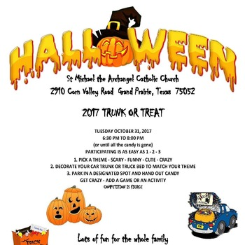 St. Michael Trunk Or Treat