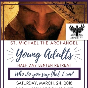 Young Adults Lenten Retreat March 24th