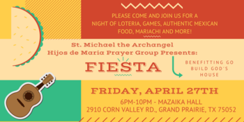 Fiesta Mexicana Fundraiser - April 27