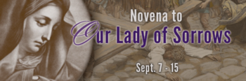 Novena to Our Lady of Sorrows