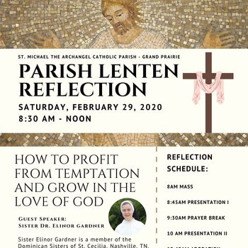 Parish Lenten Reflection February 29, 2020