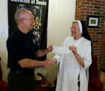 Local Charity Receiving Proceeds of Raffle