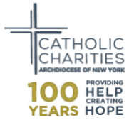 CATHOLIC CHARITIES OF NEW YORK / CARIDADES CATOLICAS DE NUEVA YORK
