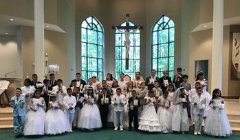First Communion/ Primera Comunion