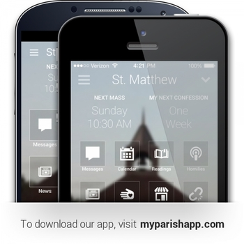 Download Our Parish App Now!