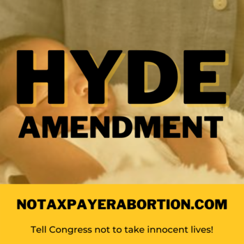 Important letter on stopping tax dollars from going to abortion