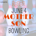 Mother and Son Bowling Event
