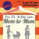 Mom-to-Mom Sale Oct. 22