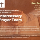 Intercessory Prayer Team