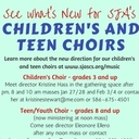 Children's and Teen Choirs