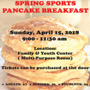 April 15 - SJA Pancake Breakfast