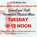 Tuesday Noon Children's Mass