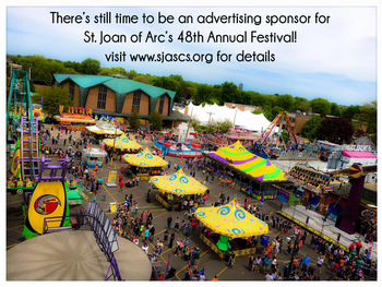 Become a Sponsor of the St. Joan of Arc 48th Spring Festival!