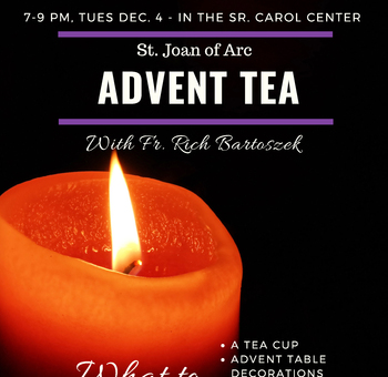 Dec 4 - Advent Tea