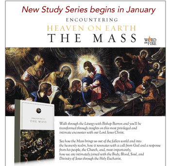 "Bishop Barron's ""The Mass"" study series begins Jan 17"