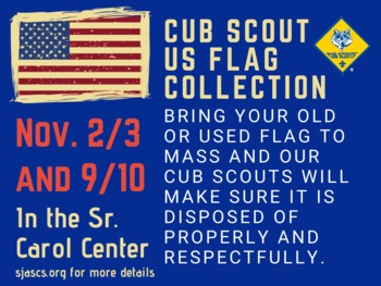US Flag Collection Nov 2/3 and 9/10