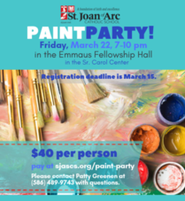 Paint Party - March 22