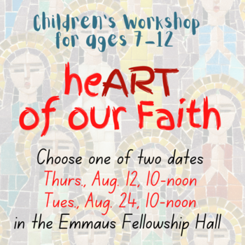 The HeART of Our Faith Workshop for children