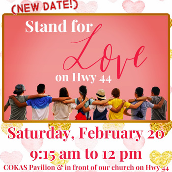 Stand for Love on Hwy 44