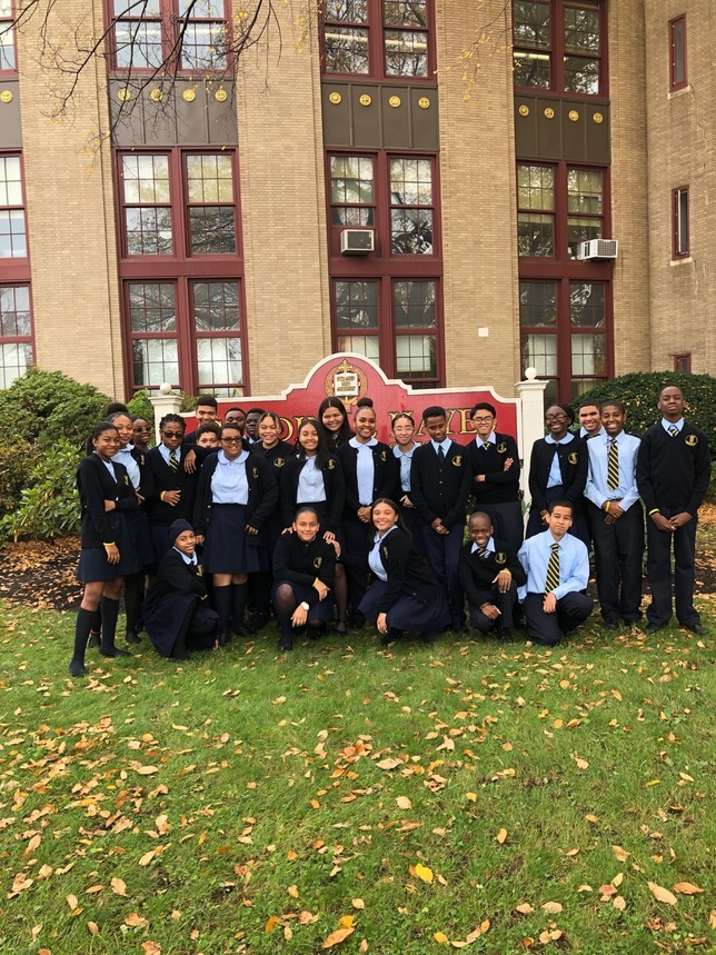 8th Grade Attends Respect Life Day at Cardinal Hayes on Friday Oct 27