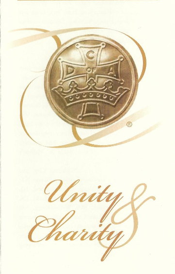 Unity and Charity_Catholic Daughters