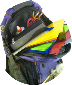 Operation Backpack Drive<br />July 18-Aug. 8