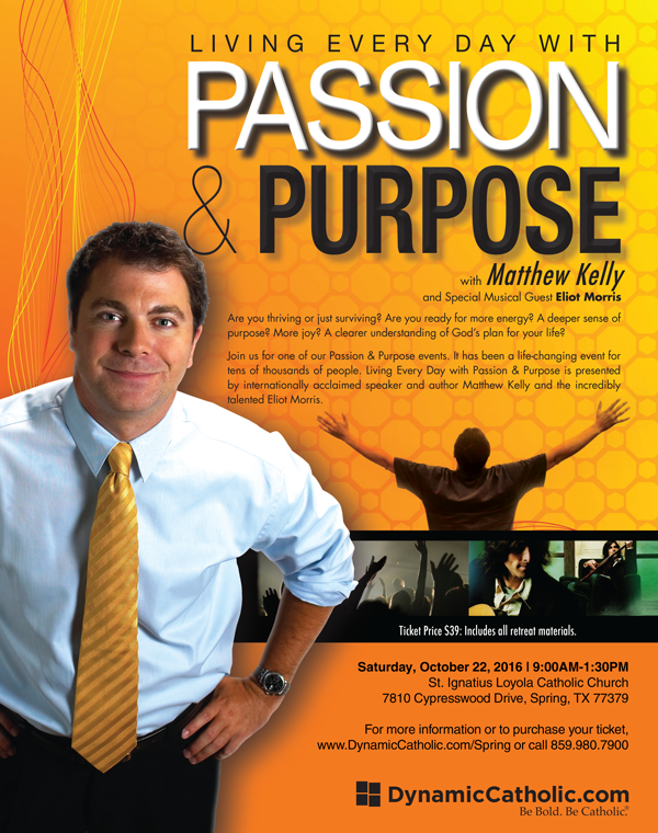 Passion and Purpose Event
