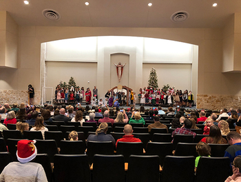 R.E. Celebrates First-Ever Christmas Program in the RAC