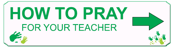 How to pray for your teacher
