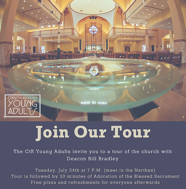 Young Adult Group Church Tour