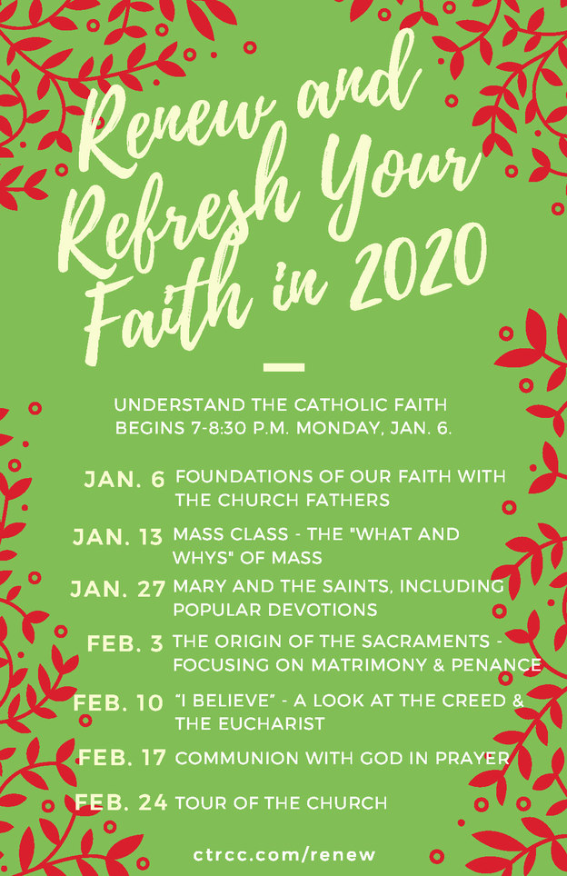 Renew and Refresh Your Faith in 2020