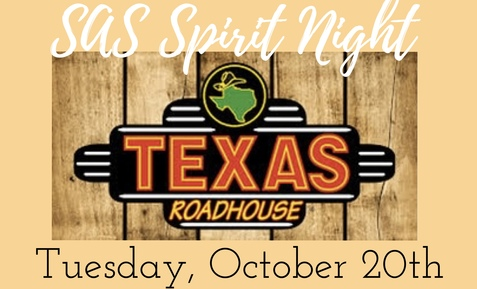 St. Anne's Spirit Night at Texas Roadhouse