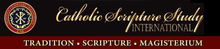 Image result for catholic scripture study