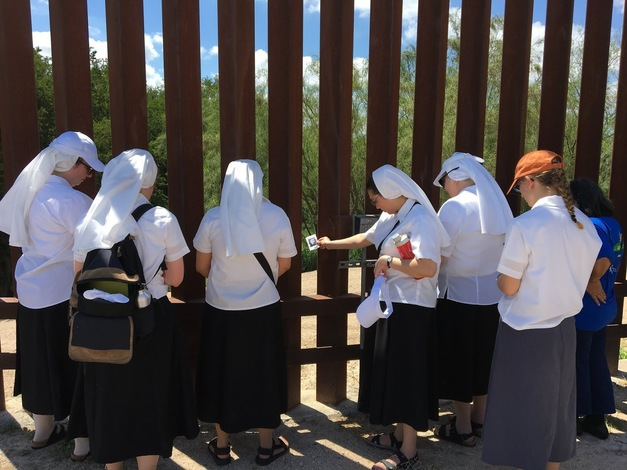 Sisters at the Border