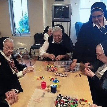 Celebrating Actively Aging in the Motherhouse