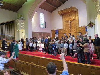 Faith Formation Parent Orientation and Blessing