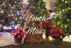 Christmas Eve Youth Mass - Church