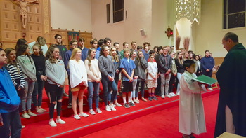 Confirmation Sessions and Youth Mass