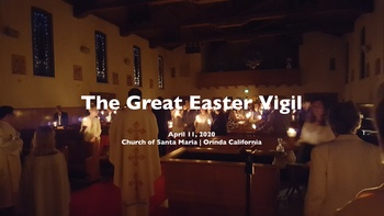 The Great Easter Vigil | Livestreamed Mass