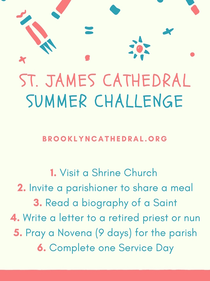 Brooklyn Cathedral Catholic Parish Summer Challenge 2017