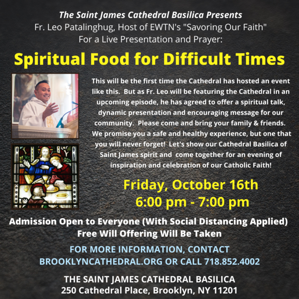 Spiritual Food for Difficult Times
