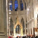 Choir Sings at Saint Patrick's Cathedral