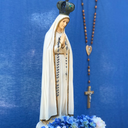 This Month's Rosary Rally Held in Church