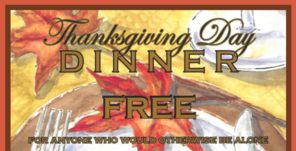 Annual Thanksgiving Dinner Cancelled This Year