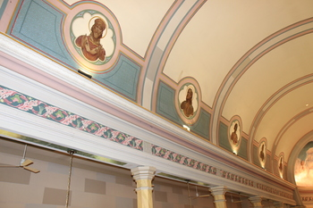 Church Ceiling Repairs Begin Monday, June 22nd